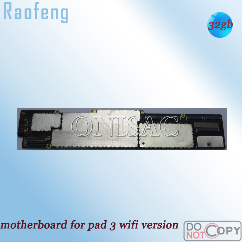 Raofeng for iPad 3-wifi-version/Unlocked/100%working PC Tablet Full-Function 32GB title=