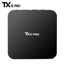 ร้อนTX5 Pro Android 6.0ทีวีกล่อง2กรัม/16กรัมAmlogic S905Xเครื่องเล่นสื่อHD 4พันอย่างเต็มที่KODI 16.1คู่Wifi Quad core Set Topทีวีกล่อง