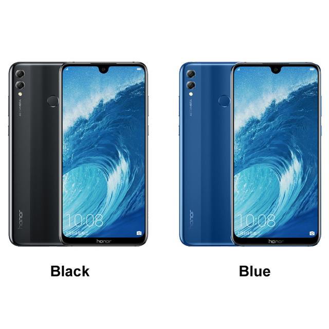 Huawei Honor 8X Max 7.12 inch Mobile Phone Android 8.1 16MP Octa Core Screen Fingerprint ID 4900mAh Battery Smartphone