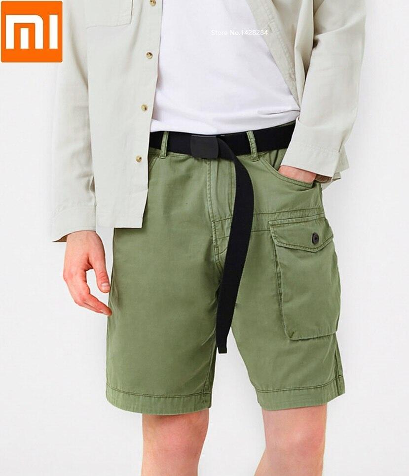 Xiaomi youpin JACK UNITED hommes coton décontracté uniforme nombreuses poches shorts délicat et doux été décontracté lâche court pantalon