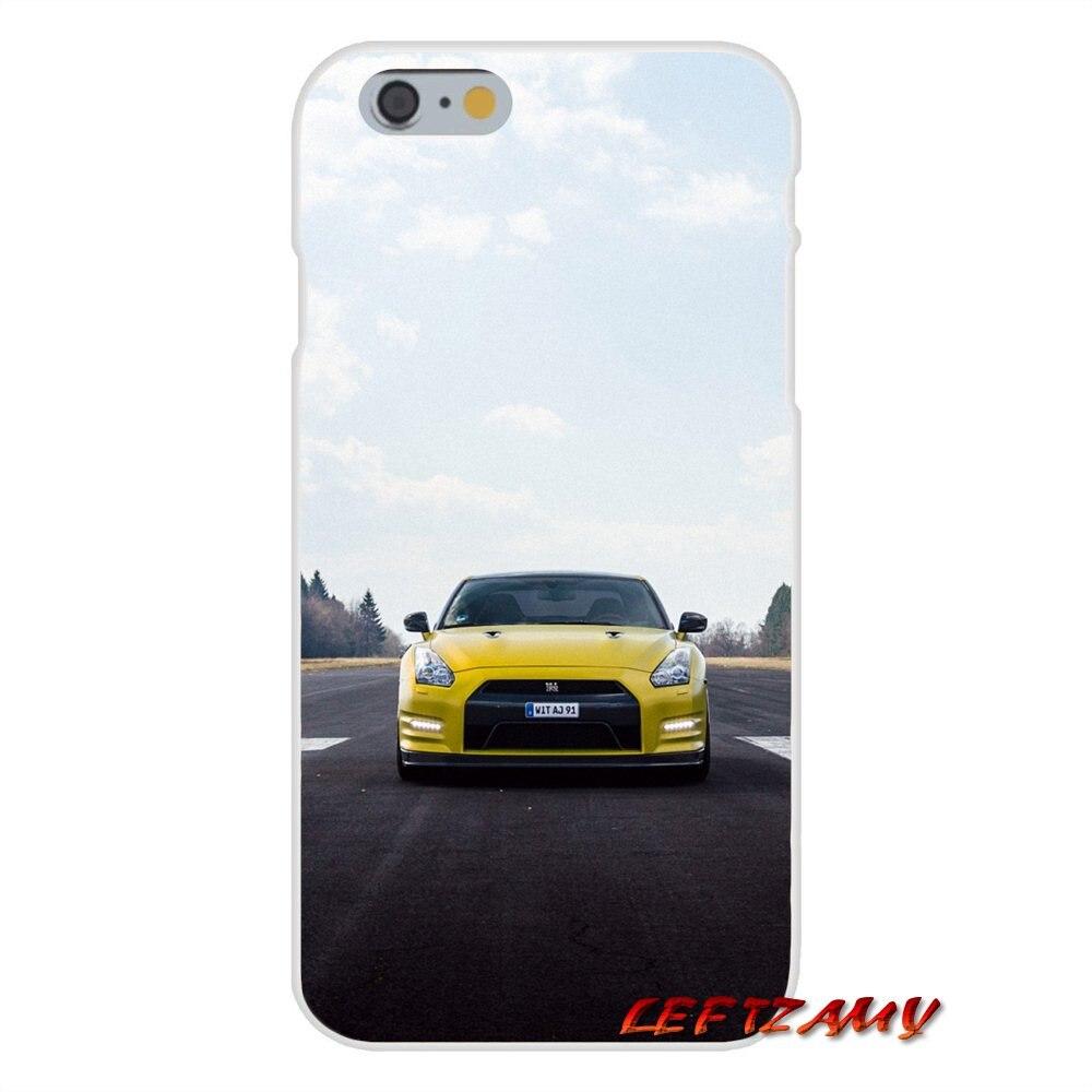 nissan GT R SPORT CAR Slim Silicone phone Case For Sony Xperia Z Z1 Z2 Z3 Z4 Z5 compact M2 M4 M5 E3 T3 XA Aqua