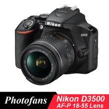 Nikon D3500 appareil photo reflex numérique avec Kit d'objectif 18-55mm-(nouveau)