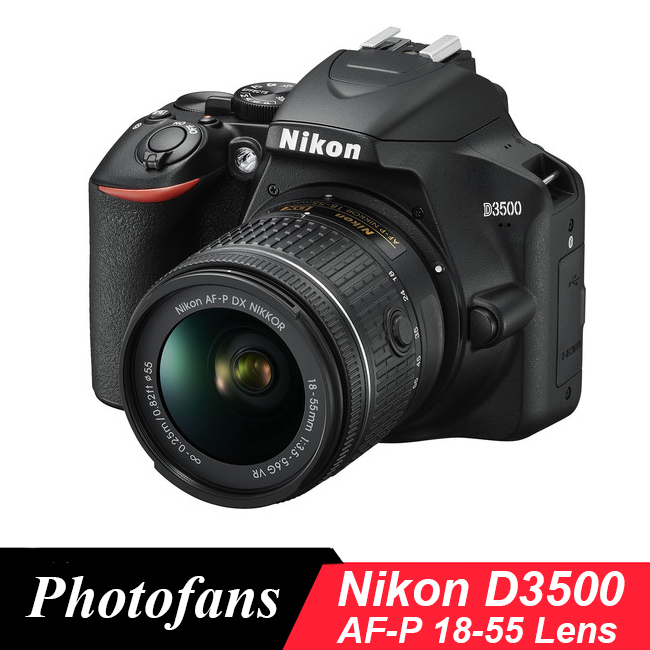Nikon D3500 DSLR Camera with 18 55mm Lens Kit (New)|DSLR Cameras| - AliExpress