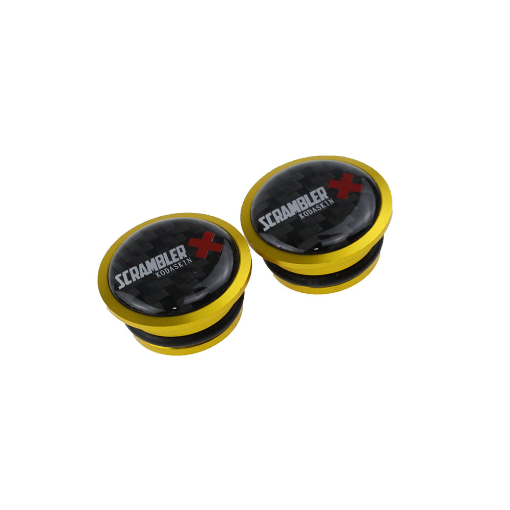 KODASKIN Frame Hole Cover Cap for DUCATI SCRAMBLER Desert Sled in Side Mirrors Accessories from Automobiles Motorcycles
