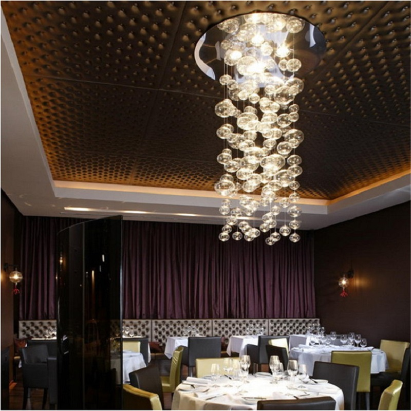 murano due lighting living room dinning. Murano Due Concave Point Bubble Glass Pendant Light Fixture Flat Ball Suspension LED DropLamp Modern Living Room Lamps-in Chandeliers From Lights \u0026 Lighting Dinning