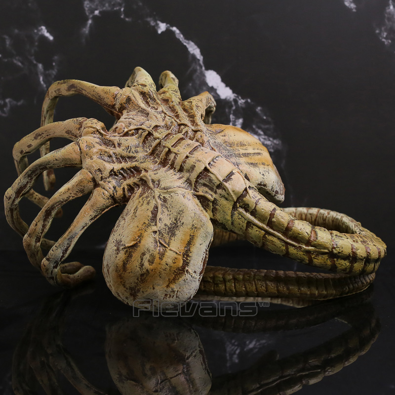 Alien Facehugger Poseable Replica PVC Action Figure Collectible Model Toy Cosplay