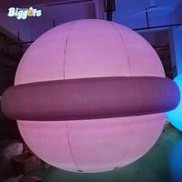 Надувные Луна гигантский свет луна воздушный шар украшение надувная Сфера планеты Форма Воздушные шары