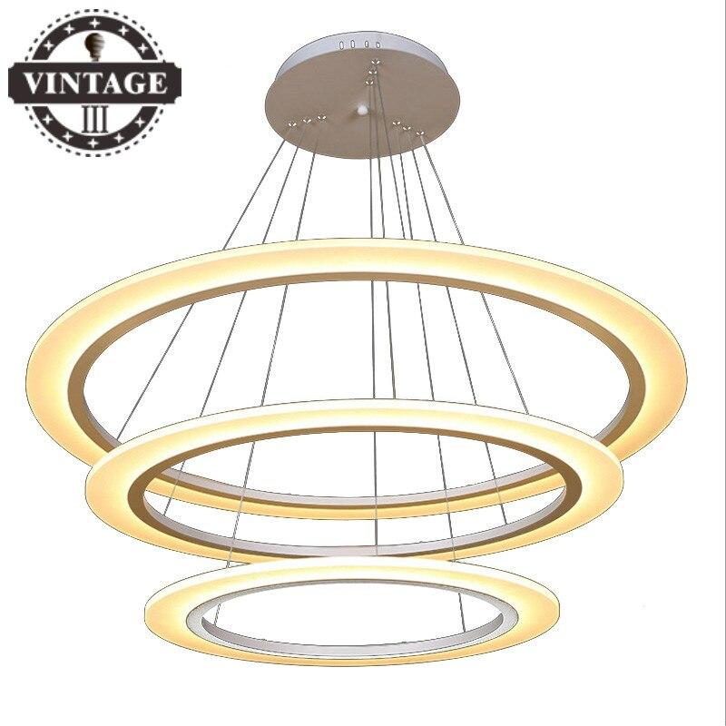 Nouveau E27 LED créatif contemporain pendentif lumières pour salon/salle à manger intérieur lampe luminaires lustre luminaire