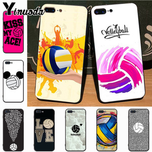 Yinuoda Volleyball Top Detailed Popular Case for iPhone 7plus X 6 6S 7 8 8Plus 5S 11pro case(China)