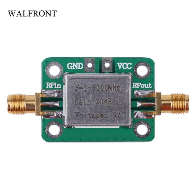 US $11 07 34% OFF|WALFRONT RF Signal Power Amplifier Board Digital High  power Amplifier Module 5 6000MHz Gain 20dB Broadband Audio Board Tools-in