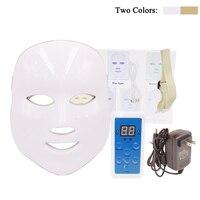 7 Màu Sắc Ánh Sáng Photon Điện LED Facial Mask Home Da Sử Dụng PDT Trẻ Hóa Da Chống Mụn Loại Bỏ Nếp Nhăn Trị Liệu Vẻ Đẹp Salon