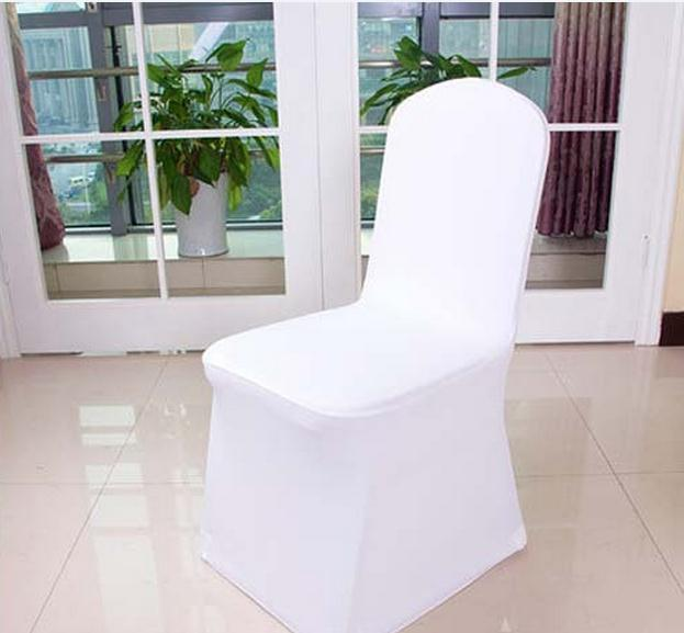 Free Shipping Universal Polyester Spandex Wedding Chair Covers for - Home Textile