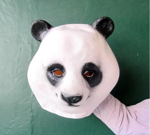 Disfraz de panda de máscara de cabeza de animal nuevo y caliente - Para fiestas y celebraciones - foto 5