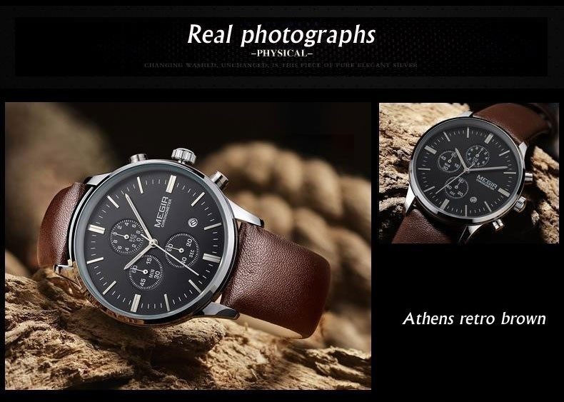 Chronograaf Militaire Top Luxe 4