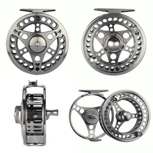 Goture High Quality Fly Fishing Reel 3/4 5/6 7/8 Interchangeable Fly Reel 2+1BB 1:1Aluminum Alloy Fishing Gear Fishing Tackle