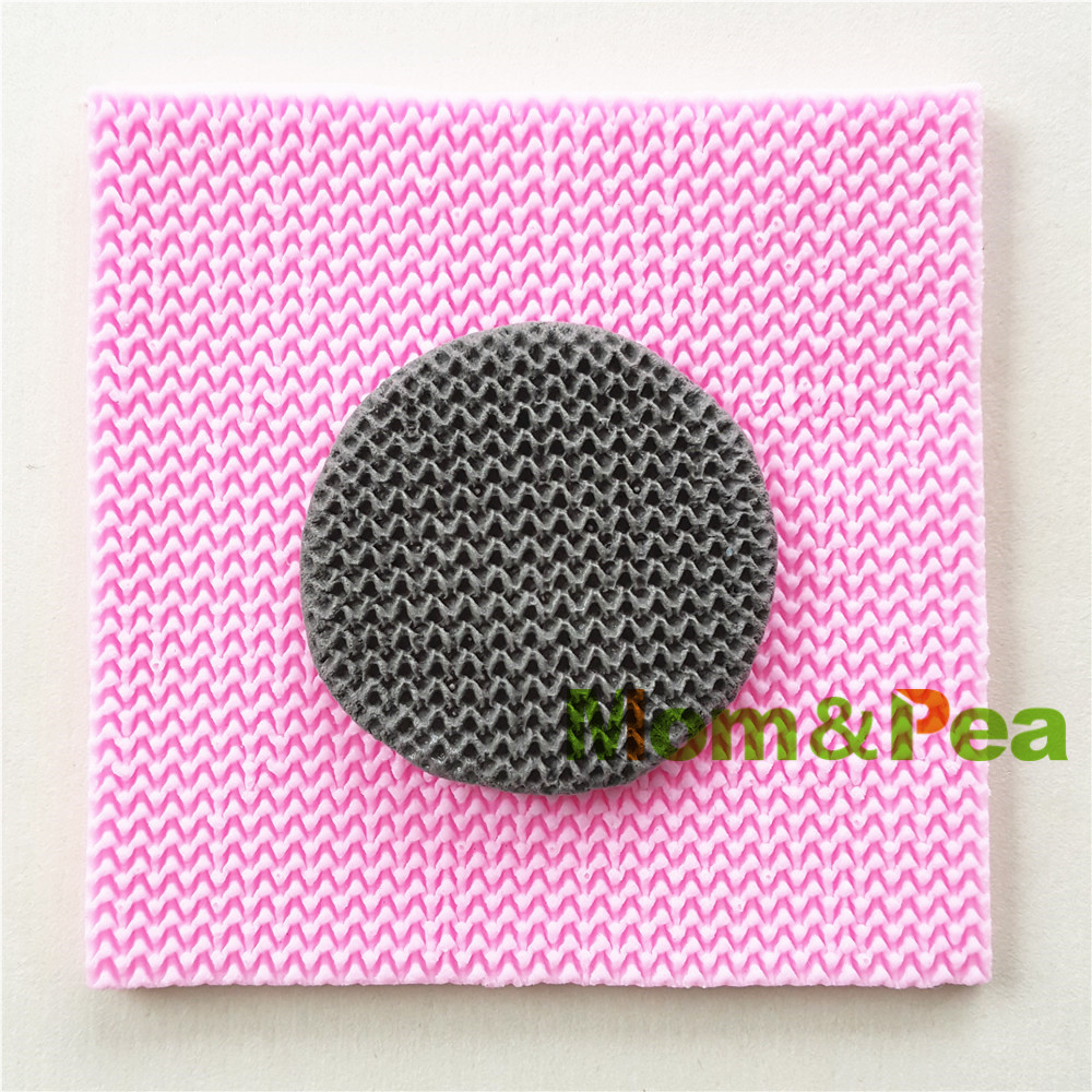 ộ_ộ ༽Mom&Pea 0983 Free Shipping Knitted Pattern Shaped Silicone ...