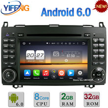 7″ 4G WIFI Android 6.0 Octa Core 2GB RAM 32GB ROM Car DVD Radio GPS Player For Mercedes-Benz Sprinter W906 W209 W311 W315 W318