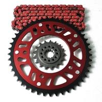 Motorcycle Complete 525 Chain Set Front & Rear Sprocket For HONDA CB600 CBF600 CBR600 CB650 CBR650 CBR900RR CBR 900RR XL1000