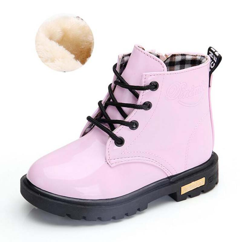 Waterproof Solid Jelly Color Martin Boots 5