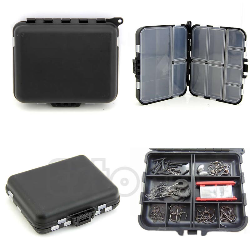 Hi-Q Fishing Lure Bait Tackle Waterproof Storage Box Case With 26 Compartments New abs pp material fishing tackle box fish lure storage case with 15 compartments