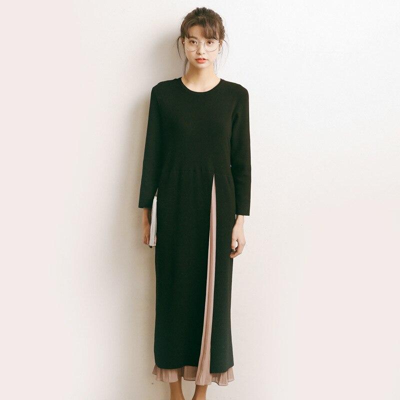 Femme Soirée De Pull Robes Zhisilao Robe Festa Moulante Longo 2017 Longue Hiver 5WzOzqB1wF