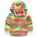 Дети Верхняя Одежда Теплое Пальто Спортивный Дети Одежда двухэтажные Водонепроницаемый Ветрозащитный Мальчики Девочки Куртки Для 2-10 Т