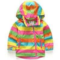 Children Outerwear Warm Coat Sporty Kids Clothes Double Deck Waterproof Windproof Baby Boys Girls Jackets For