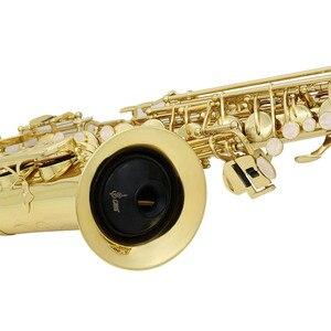 Image 4 - Alto Saxophon Stumm ABS Sax Stumm Schalldämpfer für Alto Saxophon Sax Bläser Instrument Zubehör