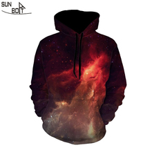Sunboat 2017 New Arrivals High Quality 3D Print Star Flame Men/Women Hoodies Sweatshirts Long Sleeve Winter Hip Hop Clothing