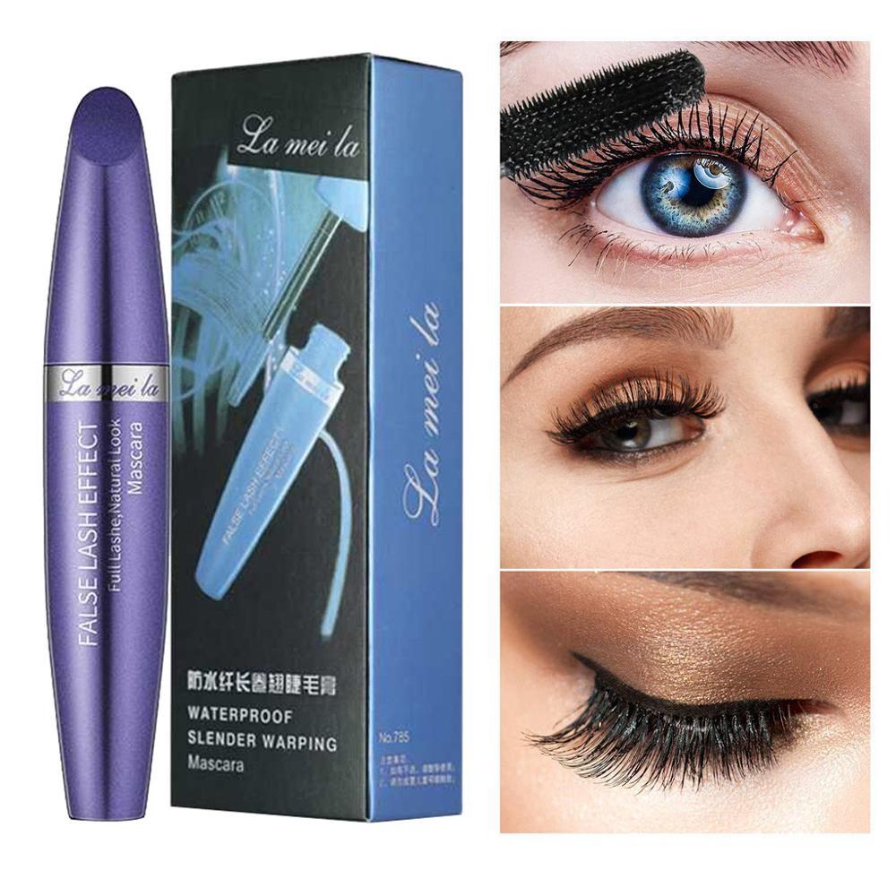 1PC Black Mascara Makeup Eyelash Waterproof Extension Curling Eye Lashes Ladies Eyelash Mascara Long-lasting Curling Eye Lash