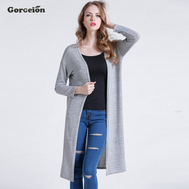 Gorgeion 2017 New Summer Thin Women Cardigans Long Sleeve Wild ...