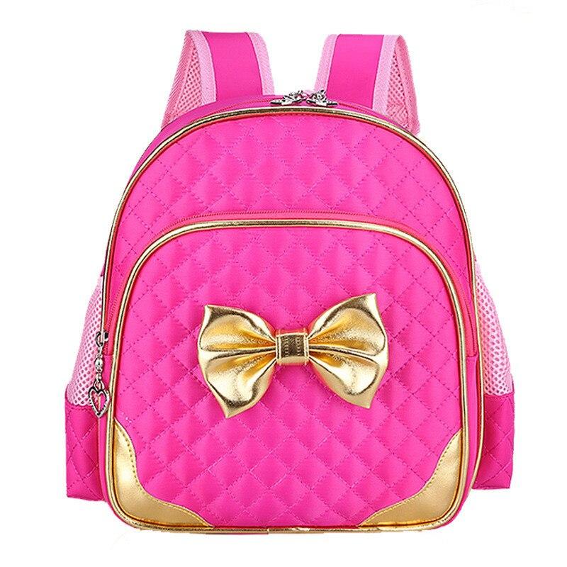 2c339b0410 Online Shop 2019 Princess Girls School bags Cute Big Bow Kindergarten Girls  Backpack Kids School Backpacks Wholesale Waterproof Child Bags