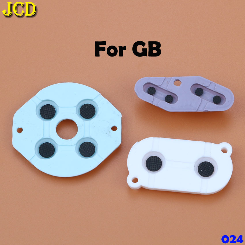 Image 2 - JCD Rubber Conductive Button A B D pad for Game Boy Classic GB GBC GBP GBA SP For 3DS NDSL NDSI NGC Silicone Start Select Keypad-in Replacement Parts & Accessories from Consumer Electronics