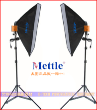 Photographic equipment 2 x Continuous Lighting Kit 50x70cm Softbox soft box portraitist accessories softbox CD50