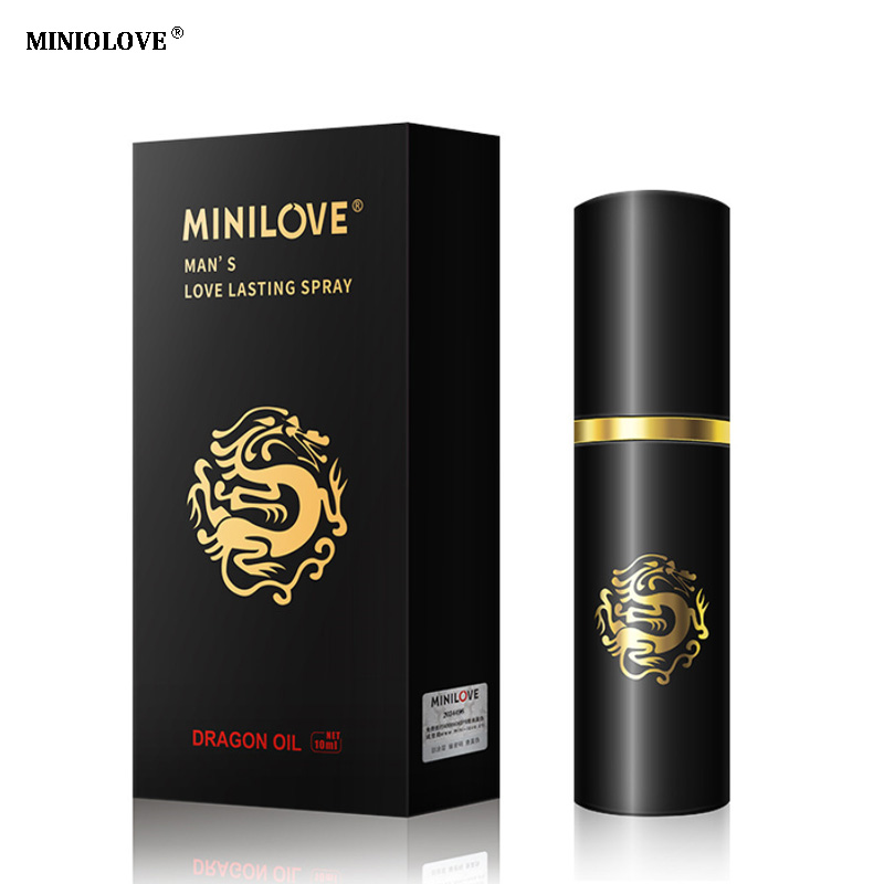 Authentic Minilove God Oil Male Delay Spray Preventing Premature Ejaculation Sex Lasting Long 10ml Essential Oil Sex Products