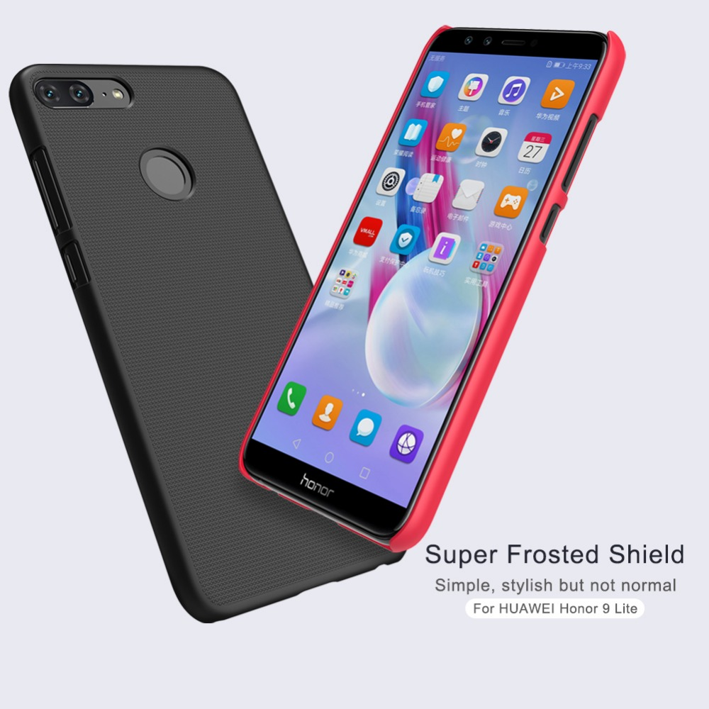 For Huawei <font><b>Honor</b></font> <font><b>9</b></font> <font><b>Lite</b></font> <font><b>Nillkin</b></font> Super Frosted Shield Case Back Cover For <font><b>Honor</b></font> <font><b>9</b></font> <font><b>Lite</b></font> PC Hard matte Plastic Hard Back Protector image