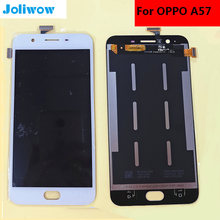 High quality For OPPO A57 LCD Display+Touch Screen+tools Digitizer Assembly Replacement for 5.2 inch цена