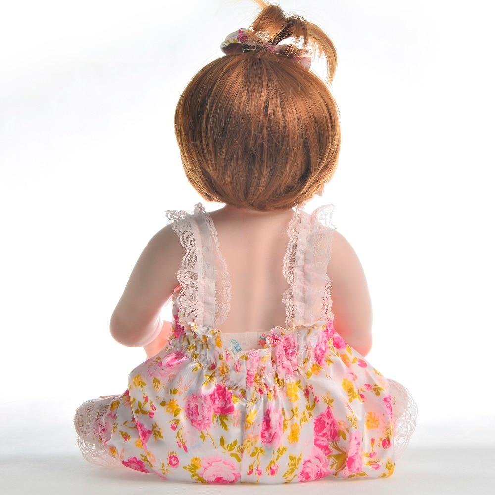 Oyuncaklar ve Hobi Ürünleri'ten Bebekler'de KEIUMI 23 Inç Tam Silikon Vinil Vücut Gerçekçi Reborn Bebek Kız Bebekler Gerçekçi Yeniden Doğmuş Bebek Bebek 57 cm çocuklar için doğum günü hediyesi'da  Grup 3