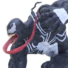 12cm Marvel Toys ARTFX the Amazing Venom Spider Man Figure Venom ARTFX 1/10 Scale PVC Action Figures Superhero Collectible Model