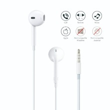 a0f08254ffe Apple's Earphone for Mobile Phone Apple EarPods with 3.5mm Ear phones For  iPhone 5/