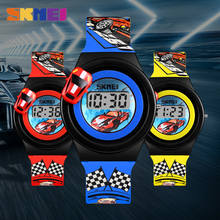 Cartoon Car Children's Watch