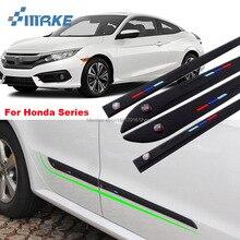 smRKE High-quality Rubber Car Body Anti Scratch Protector Bumper For Honda City Odyssey ACCORD Fit CRV HRV SPIRIOR Series