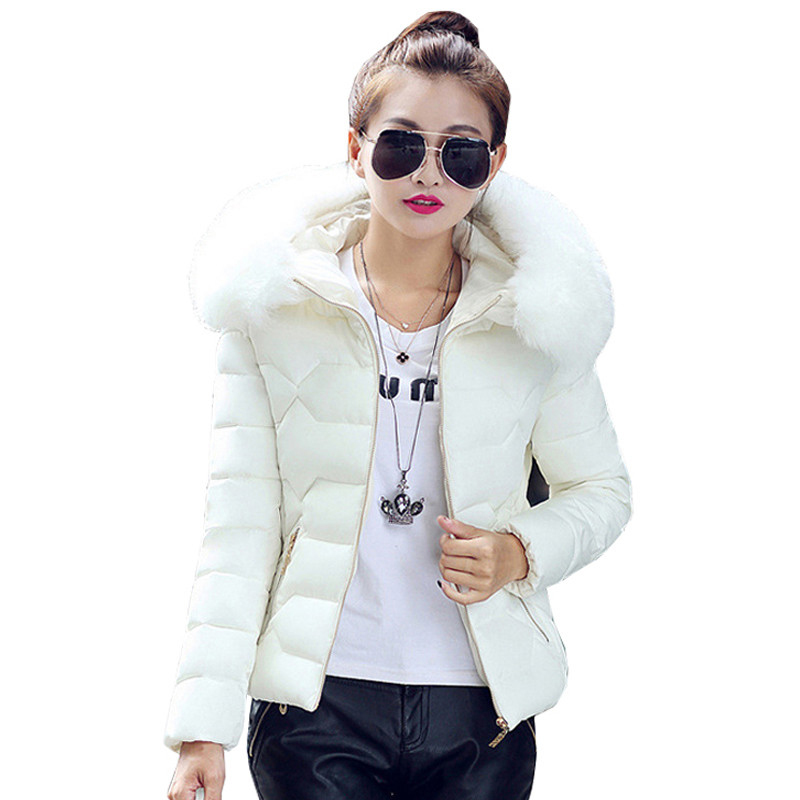 Womens Winter Jackets And Coats 2016 Women's Parkas Thick Warm Faux Fur Collar Hooded Anorak Ladies Jacket Female womens winter coats jackets women parkas thick warm coat faux fur collar hooded down female coat ladies jacket manteau femme