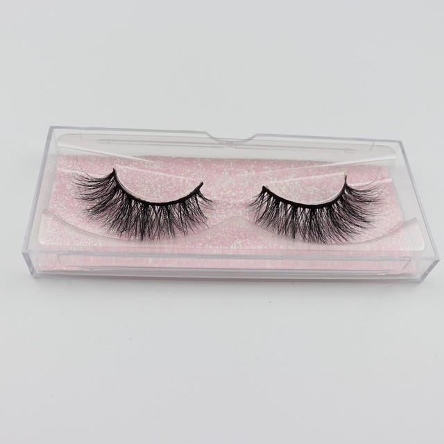Mink Eyelashes 3D Mink 100% Cruel Eyelashes Handmade Natural Reusable Small Eyelashes False Eyelash Makeup Eye 1