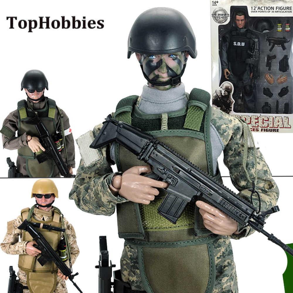 Acción Figuras Militares Figura Sdu Juguetes De Modelo 16 SUGVqzMp