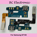 For Samsung N7100 USB Port Charge Board With Microphone 100% Original Free Shipping