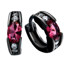 Hot Sale Wholesale Fashion Multicolour Zircon Earrings New Product Jewelry For Women Wedding Party Gift  Accessories