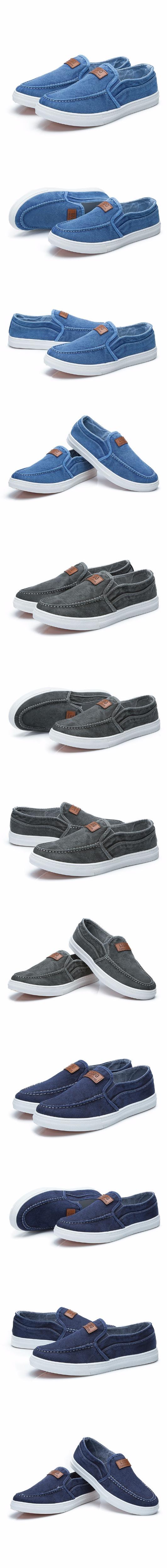 2017 New Arrival Brand Men's Casual Shoes Canvas Male Shoes Fashion Men Shoes5