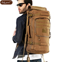 Men's bags backpack Bags 50 l water proof military laptop bags wear resisting package high quality fashion leisure camouflage la