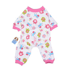 TAONMEISU Cute Dog Pajamas Soft Warm Cozy Small Horse Printing Jumpsuit for Pets Puppy Sleeping Romper Clothes